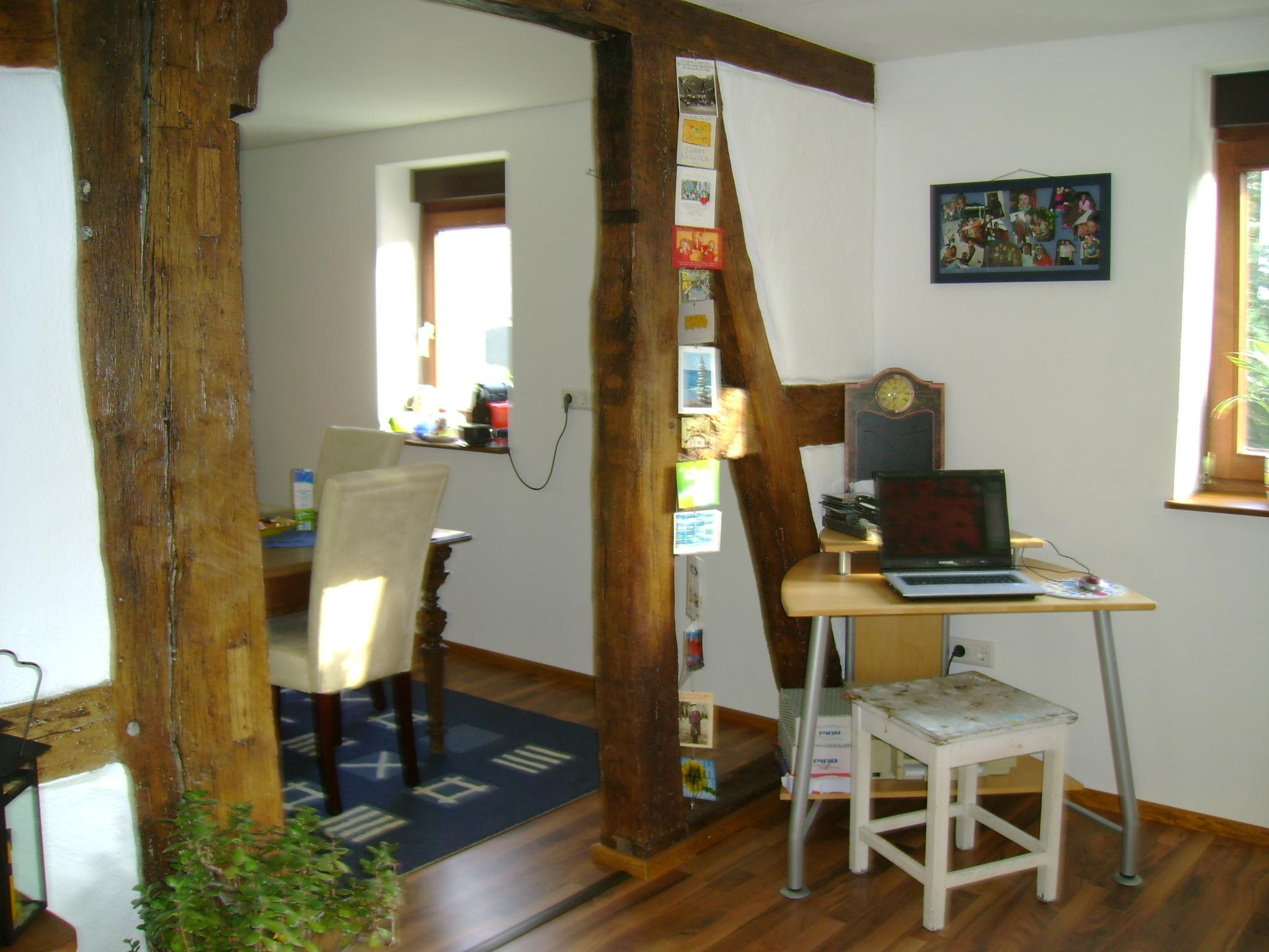 Holzbau peter komplette wohnung for Fachwerkwand innen